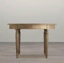 Fluted leg dining tables round dining tables restoration hardware