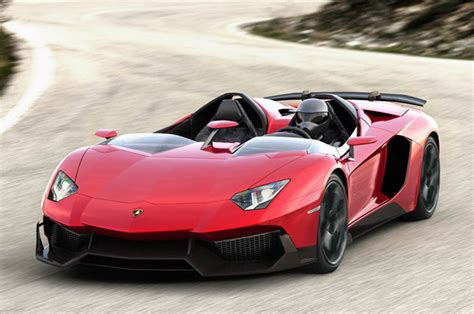 lamborghini aventador j roadster is a sport bike built for two and it s for sale
