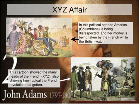 Xyz Affair ppt unit seven the federalist era powerpoint