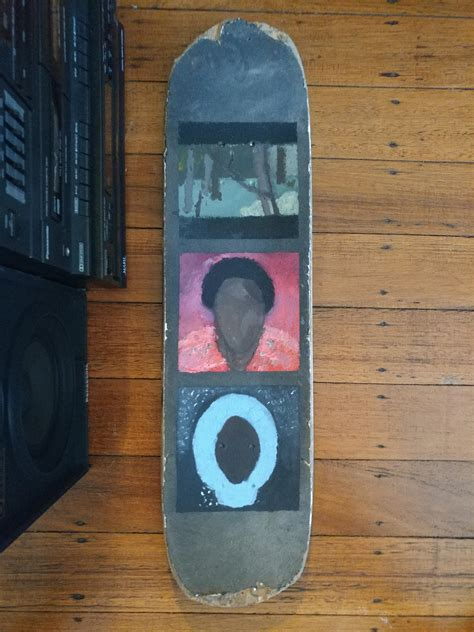 childish gambino eating oreos in a parked car finished painting his studio albums i m no artist but it
