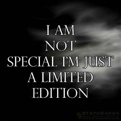 I Am Not A Special i am special status quotes dp attitude whatsapp