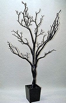artificial bare trees check out the deal on 4 foot black tree in decorative pot bendable branches at battery