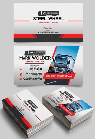 Business Cards For Transport Company