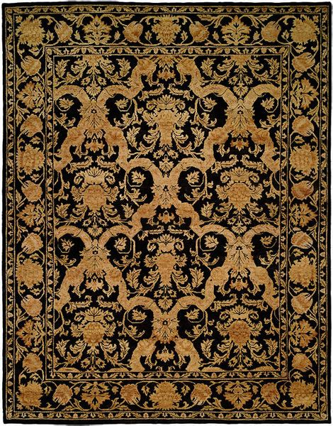 Royal Rugs by Designer Series Ds16l108 Black Midnight Royal Rug