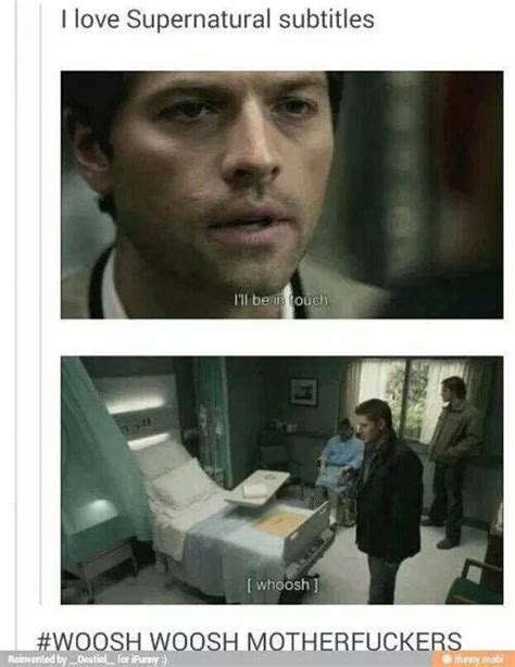 Supernatural Castiel Memes - best 25 dean and castiel ideas only on pinterest funny