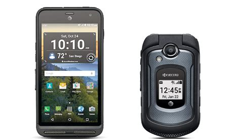 At T Rugged Phones by Kyocera Duraforce Xd Dura Xe Rugged Phones Launched By