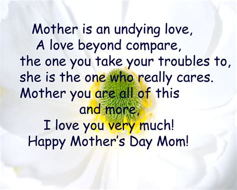S Day Quotes In Free Mothers Day Greetings Quotes Poems Answer