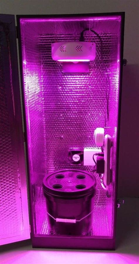 hydroponic grow box  led stealth pc cabinetcropcom