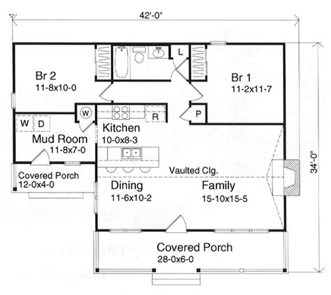 cottage floor plans 1000 sq ft one story small house plans 1000 sq ft home sweet