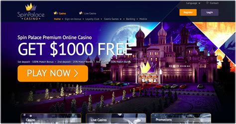 amazing casino canada  spin palace  great bonus   slot spins