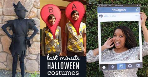 minute diy halloween costumes