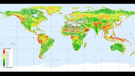 elevation map of the world a step closer to mapping the earth in 3d