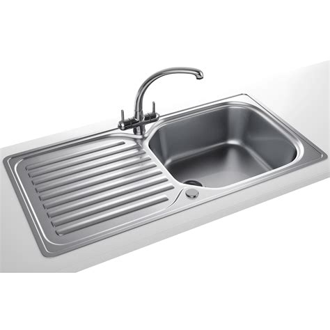 franke elba propack eln 611 96 stainless steel sink and