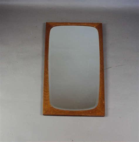 mid century modern hanging ls teak framed mirror c1970 s mid century mid