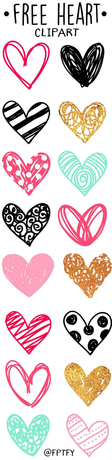 doodle hearts 25 best ideas about clip on clip free