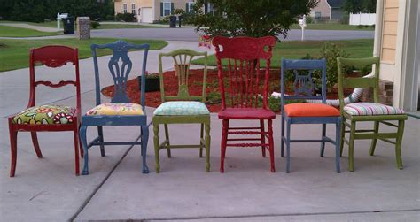 Mismatched Dining Chairs | feature friday a surprise makeover