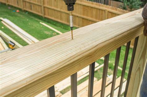 decks railing cap