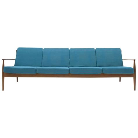 grete jalk sofa danish modern classic grete jalk long four seat sofa for