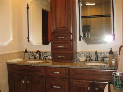 glass cabinet hardware bathroom design traditional