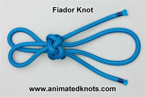 Decorative Knot Tying - fiador theodore knot how to tie the fiador theodore