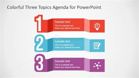 Free Powerpoint Template For Agenda Design Slidemodel Powerpoint Agenda Template