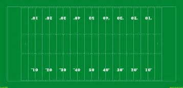 Football Field Template by Sports Field Templates