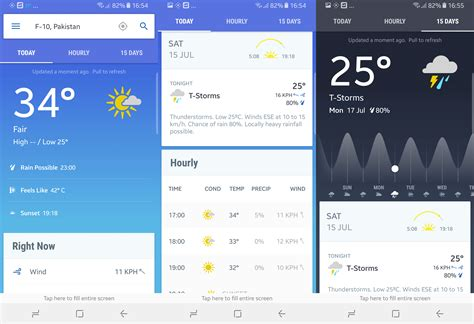 best weather app android the 8 best weather app for android
