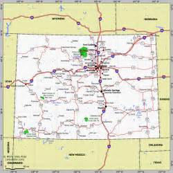 colorado county map with highways ouray county co genweb project maps
