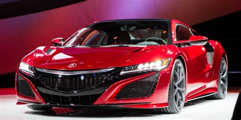 Honda 2016 Acura NSX Revealed At 2015 New York Auto Show