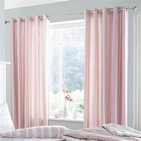 cortinas vintage dormitorio catherine lansfield vintage cortinas color rosa