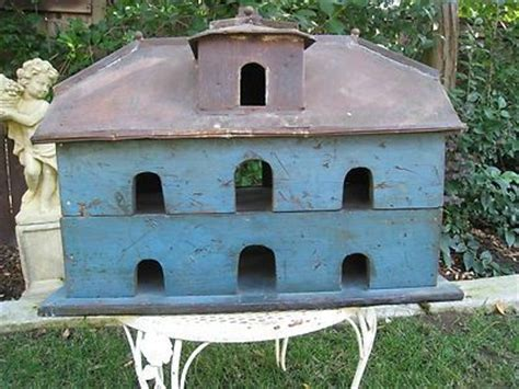 antique purple martin bird house blue my 2nd favorite