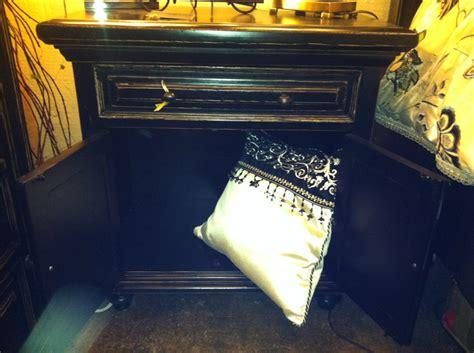 rustic crafted black san antonio bed bedroom set