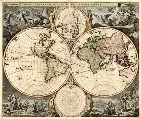 vintage map show a historic sensibility or simply start a conversation with antique maps world trade press