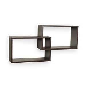 rectangular wall shelf 1online two intersecting rectangular wall cube shelves best home organization 2016