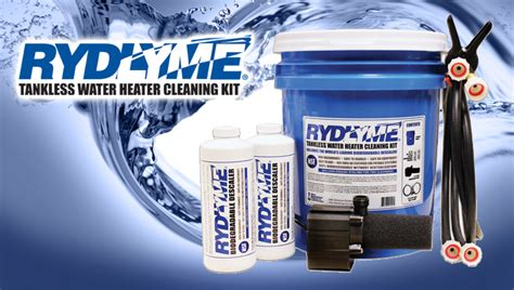 Water Heater Cleaning Rydlyme Tankless Water Heater Cleaning Kit Apex