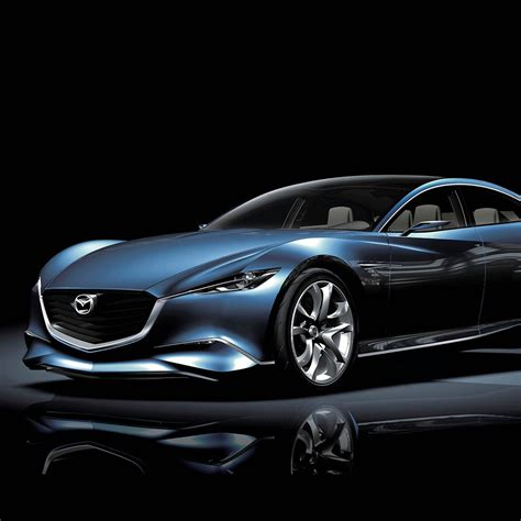 2048x2048 Mazda Shinari Concept Car HD Wallpaper