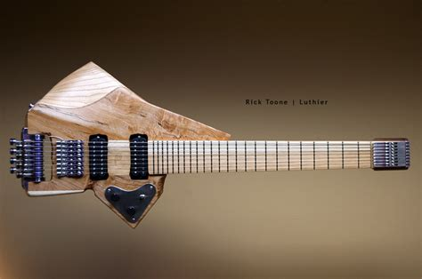 Animal Guitar rick toone luthier tosin abasi