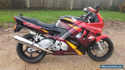 cbr 600 black 1996 honda cbr 600 f black red for sale in united kingdom