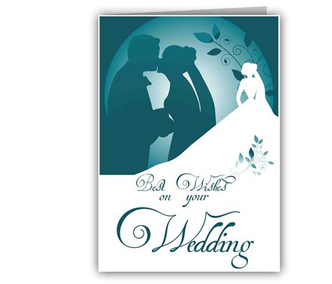 Gift Cards For Wedding Presents - personalized best wishes wedding card giftsmate