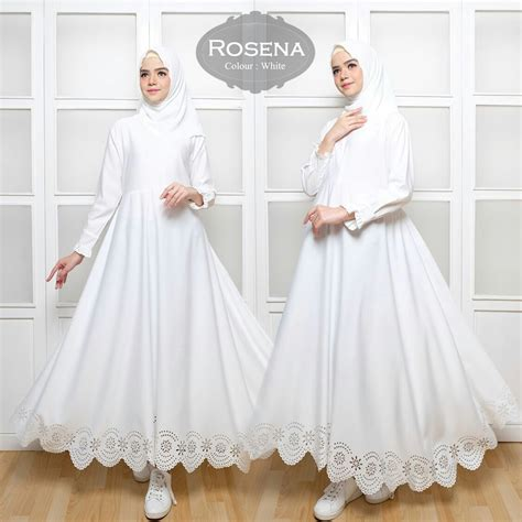Gamis Modern Rosena Maxi Baloteli   Baju Muslim Terbaru   Butik Jingga