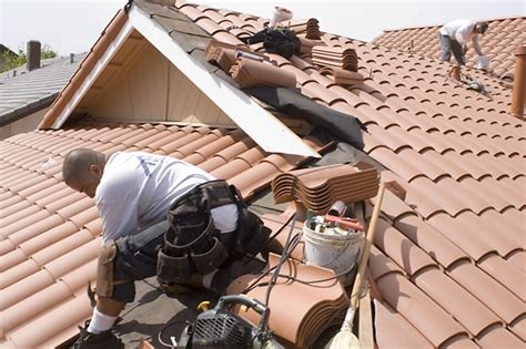 Tile Roof Installation Tile Roof Concrete Tile Roof Installation