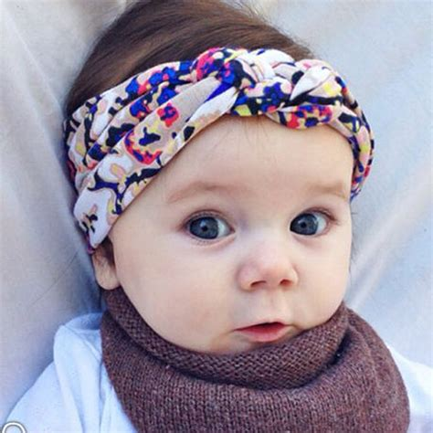 ts 120pcs new 2016 colorful lace headband hair rope rubber turban baby headbands flowers 2016 infant girls big