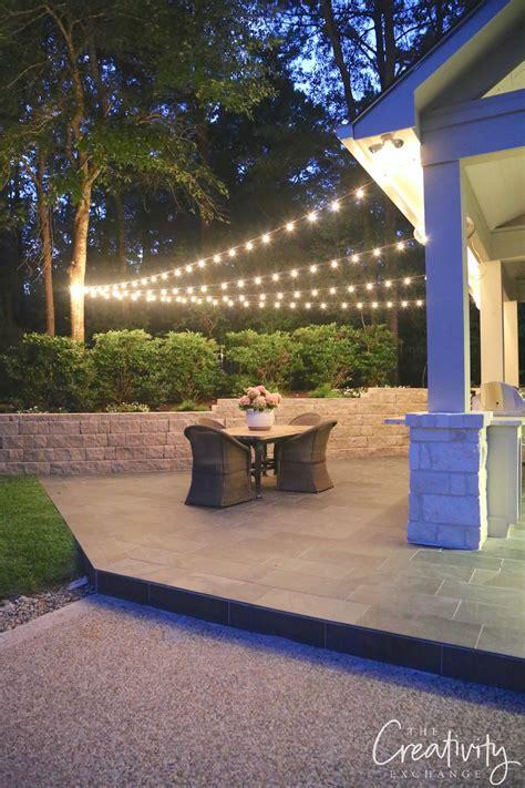 landscape lighting zero for hanging outdoor string lights