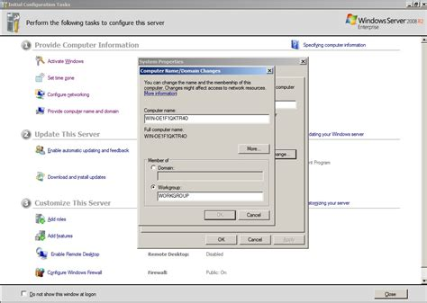 configurando  windows server   pos instalacao
