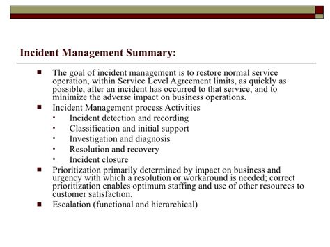 problem management report sle incident summary report template 28 images incident
