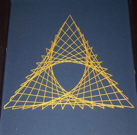 Triangle String - math photos