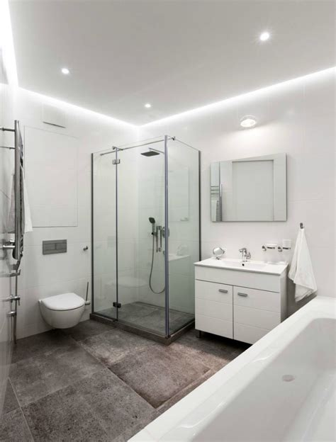 minimal bathroom minimal apartment in kiev has a lot to show