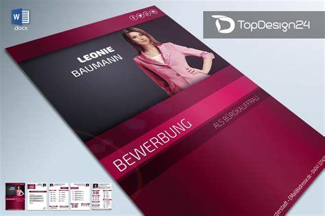 Bewerbungsvorlagen Modern Bewerbung Deckblatt Modern Topdesign24