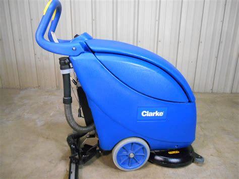 Clarke Floor Scrubber by Used Clarke 17 Inch Vantage Floor Scrubber Autoscrubber W