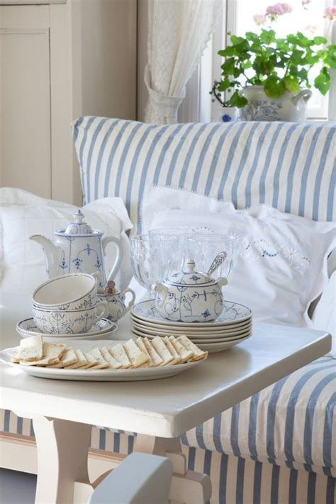Shabby Overly Chic shabby chic stripes and not overly floral china http